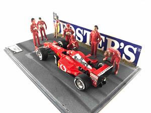 Diorama Schumacher GP Imola 2002