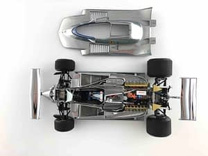 Ferrari F1 312 T4 1979 - 50° Anniversario Fintura in Alluminio - Exoto 1/18