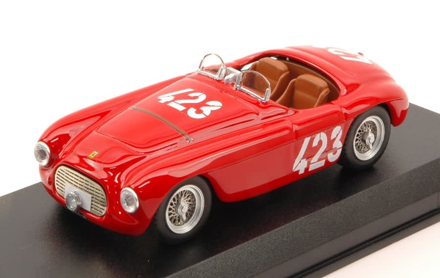 Vittoria della Ferrari 166 MM al Giro di Sicilia del 1952