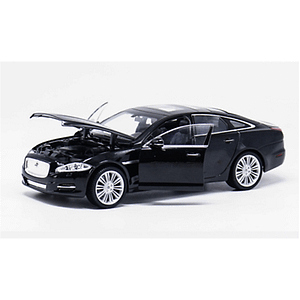 JAGUAR XJ 2010 BLACK 1:24 Welly