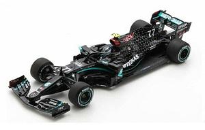 MERCEDES F1 W11 VALTERI BOTTAS 2020 N.77 WINNER AUSTRIAN GP 1:18 Spark Model
