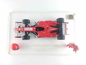 Ferrari F1 F2006 M. Schumacher GP Brasile Hot Wheels Racing 1/18